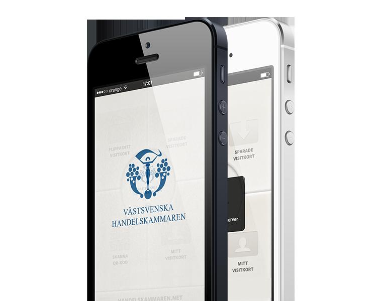 Mobile phone app for Sweden's Chamber of commerce